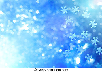 Winter background - Winter and christmas background with...