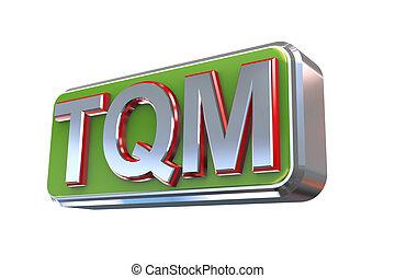 3d design of tqm - total quality management - 3d...