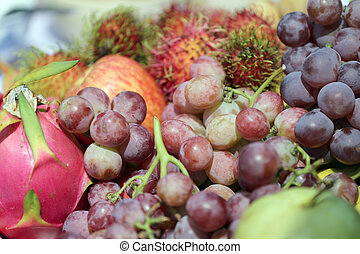 Mixed Fruit. - Mixed Fruit for food background.