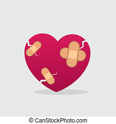 Heart Bandages