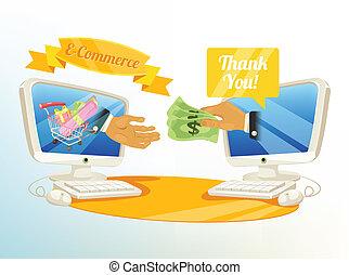 Vector Shopping E Commerce Illustra