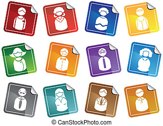 Business People Stickers