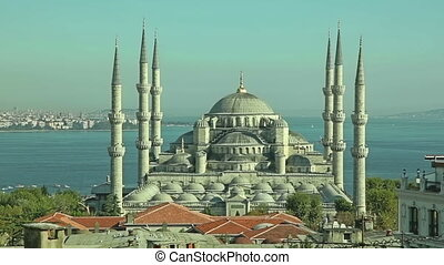 Blue mosque Istanbul sunset - Blue mosque in glorius sunset...