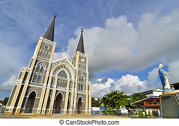 Roman-Catholic Cathedral of the immaculate conception,...