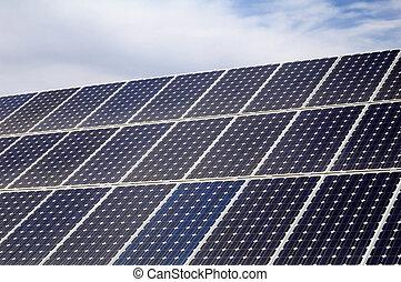 Photovoltaic, solar panel - Renewable energy