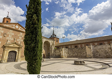 Remains of the Church, Santa Maria la Mayor, Alcala de...