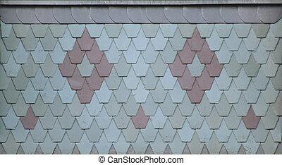 裝飾, 屋頂, 瓦片