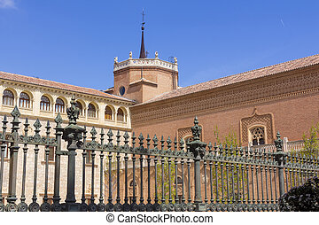 Archbishop Palace in Alcala de Henares, Spain