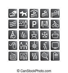 Relax set icons