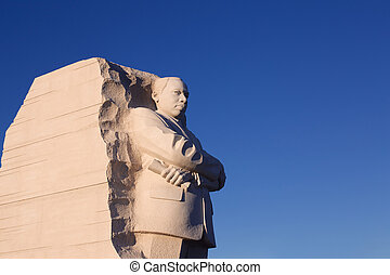 Martin Luther King Memorial - Statue at the Martin Luther...
