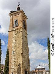 Former Tower Chapel Oidor, Alcala de Henares , Spain