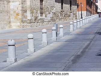 bollards to not park on the street