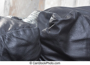 black leather couch widely used
