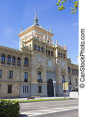Former Military Academy Cavalry in Valladolid, Spain