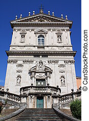 Santi Domenico e Sisto Rome, Italy - The church was built at...
