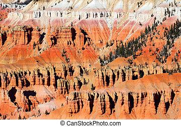 Cedar Breaks Rock Formations Utah