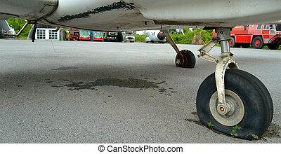 old plane detail
