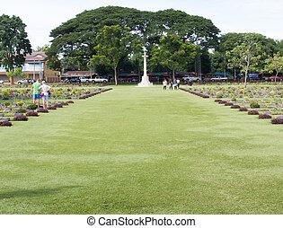War Memorial Ceremonies Thailand