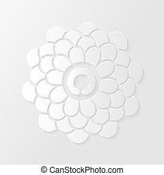 Lotus flower and Zen circle illustr - Lotus flower and Zen...