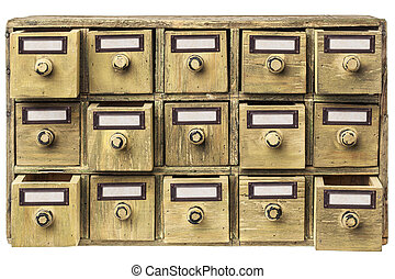 primitive drawer cabinet