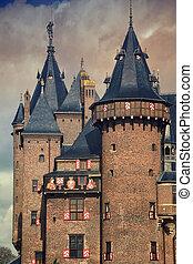 Castle in Utrecht - Castle De Haar is located in the...