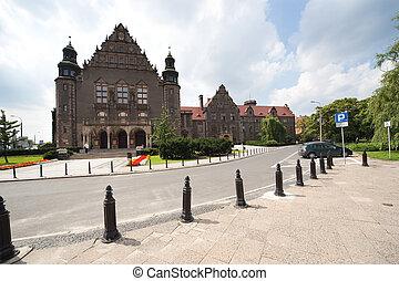 UAM - Adam Mickiewicz University in Poznan - ultra wide...