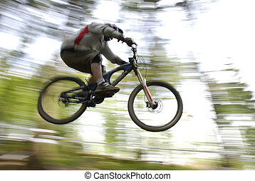 mountainbike - biker