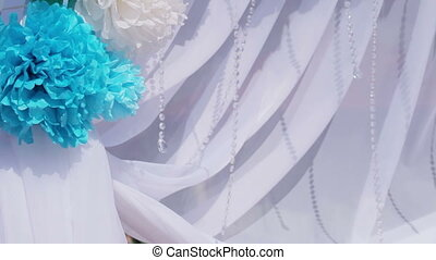 Part Decorated wedding arch - Design elements of a wedding...