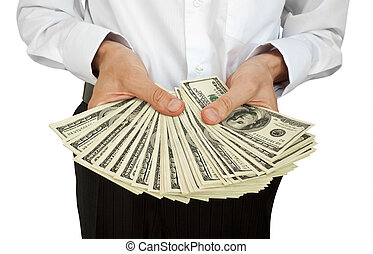 account of money in hands