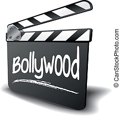 Clapper Board Bollywood - detailed illustration of a clapper...