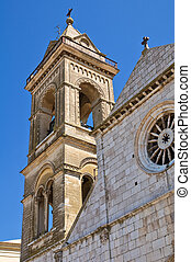 Cathedral of Assunta. Minervino Murge. Puglia. Italy.