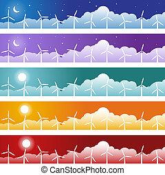 Wind Turbine Banner