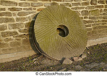 Windmill Levern Stemwede, Germany - mill wheel - A mill...