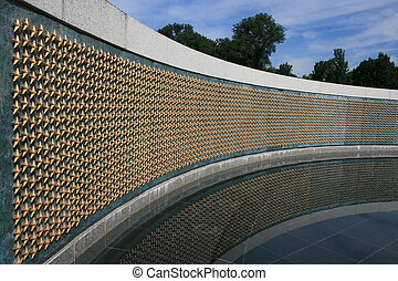 Memorial - Freedom Wall portion of the National World War...