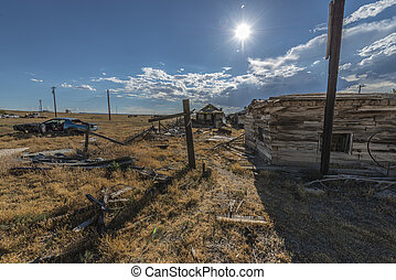 Ghost Town Cisco Utah - Abandoned real estate in Ghost Town...