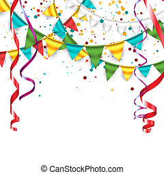 Celebration Background - Festive birthday background with...