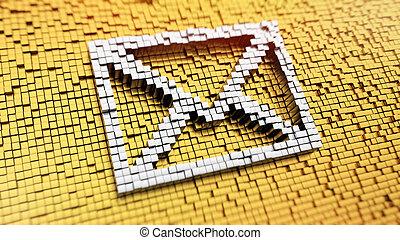Pixelated envelope