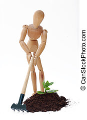 Gardening - Cultivation concept