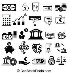 Business and Finance icon - easy to edit vector illustration...