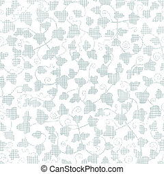 vector sylver ivy textile texture seamless pattern background