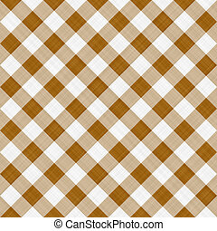 brown table cloth - seamless texture ofsepia brown and white...