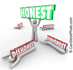 Honest Person Wins Vs Dishonest Competitors Strong...