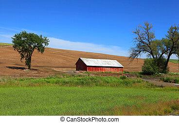 Old barn near Pullman