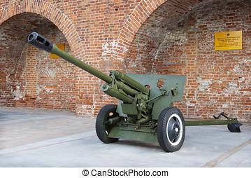 Soviet anti-tank 76 mm gun - RUSSIA, NIZHNY NOVGOROD - AUG...