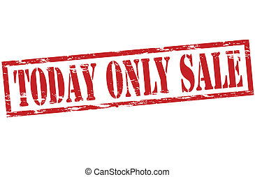 Today only sale