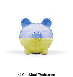 moneybox - american pig money box isolated