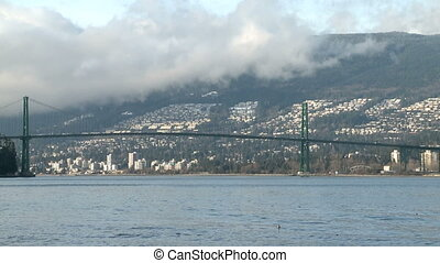 Lion Gates Bridge Vancouver - Lion Gates Bridge in Vancouver...