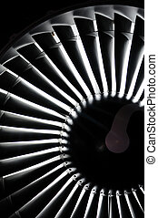 Jet engine background - Abstract background of a jet engine