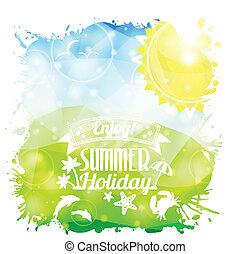verão, cartaz