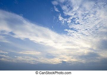 Clear sky background